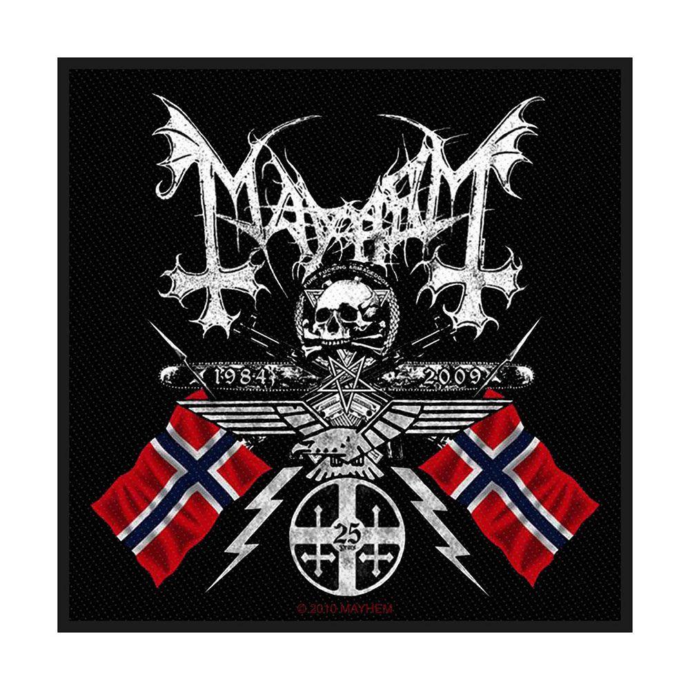 Mayhem Coat Of Arms Patch