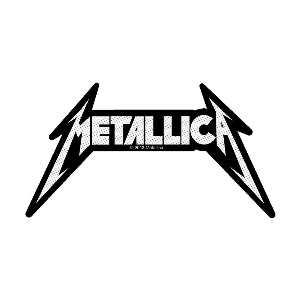 Metallica Logo Patch