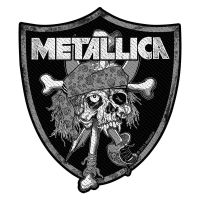 Metallica Raiders Skull Patch