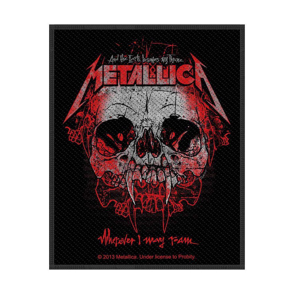 Metallica Wherever I May Roam Patch