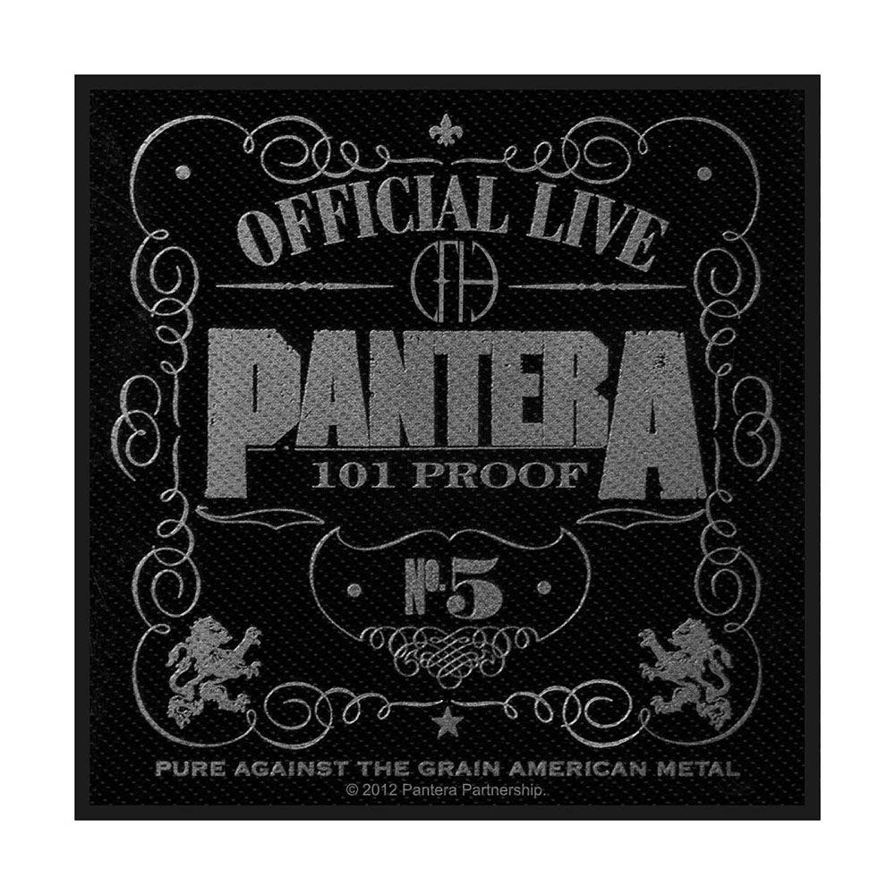 Pantera 101% Proof Patch