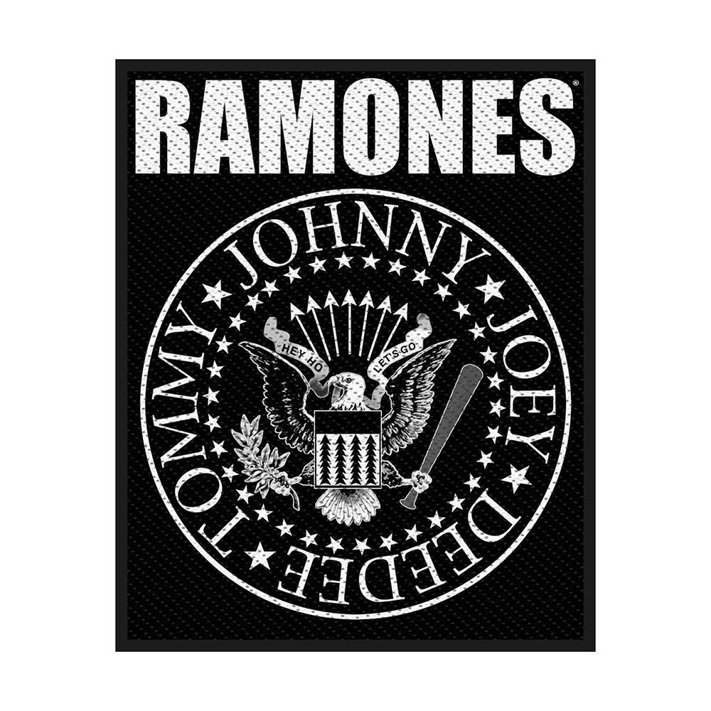 Ramones Classic Seal Patch