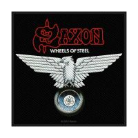 Saxon Wheels Of Steel Patch