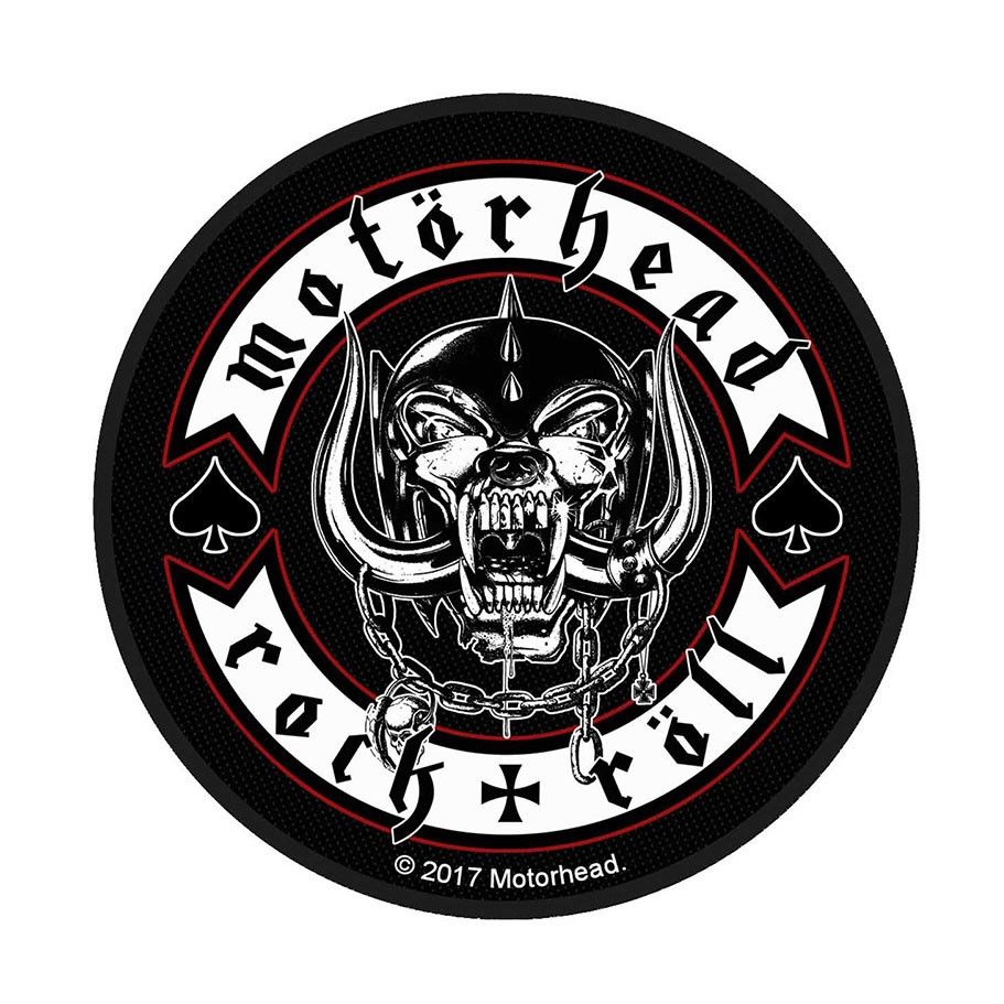 Motorhead Biker Badge Patch