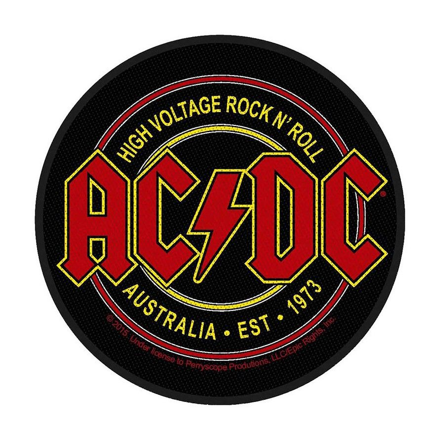 AC/DC High Voltage Rock N Roll Patch