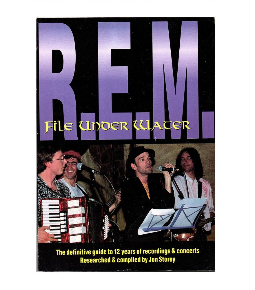REM File Under Water Book
