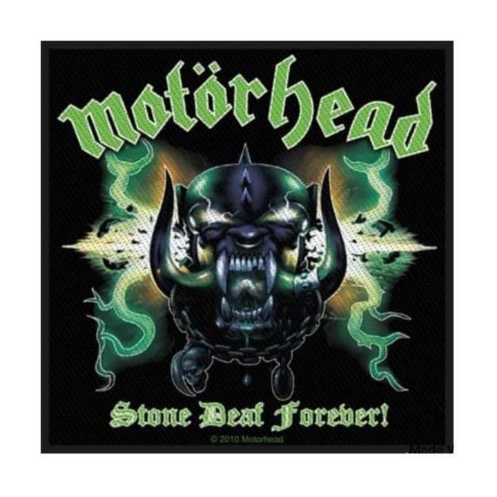 Motorhead Stone Deaf Forever Patch