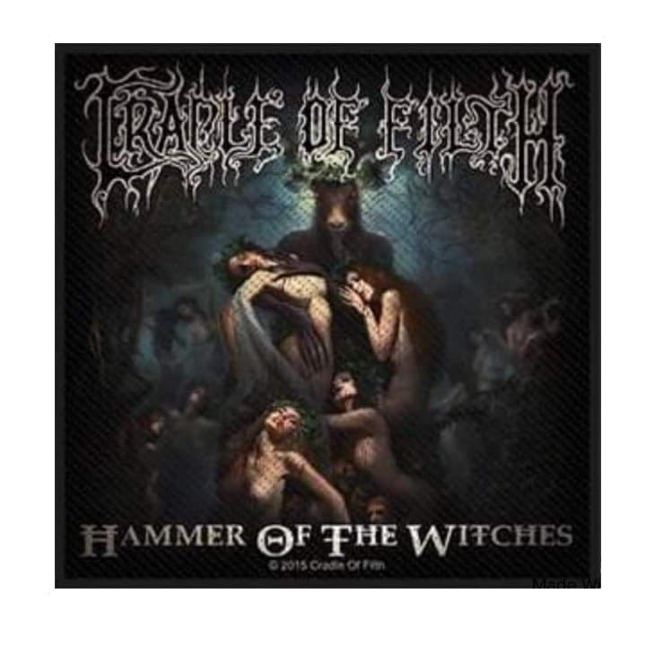 Cradle Of Filth Hammer Of The Witches Patch