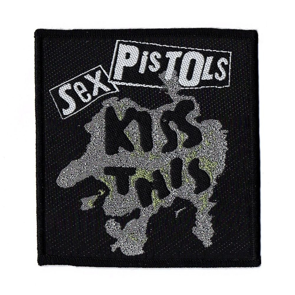 Sex Pistols Kiss This Patch