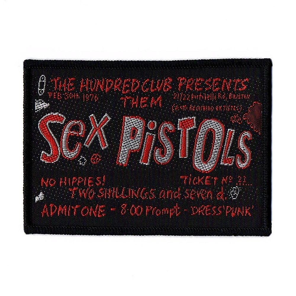 Sex Pistols Ticket Patch