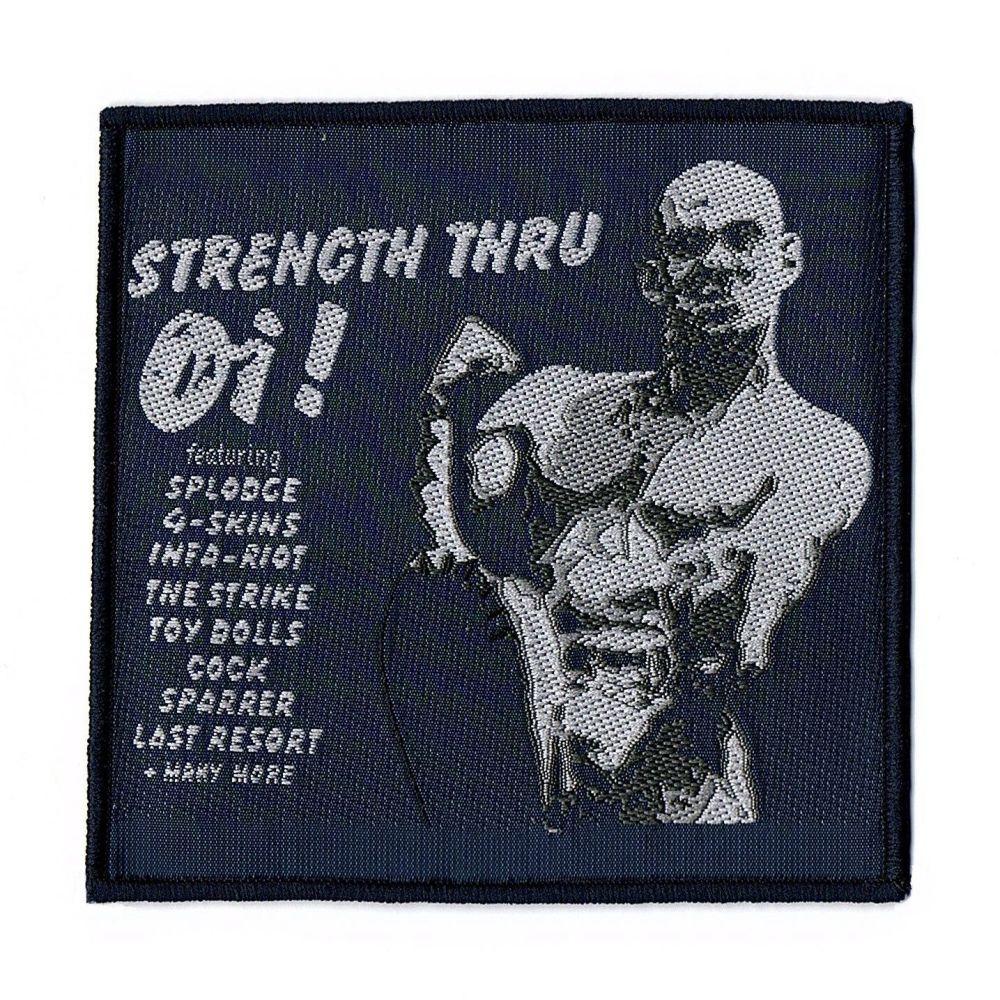 Strength Thru Oi ! Patch
