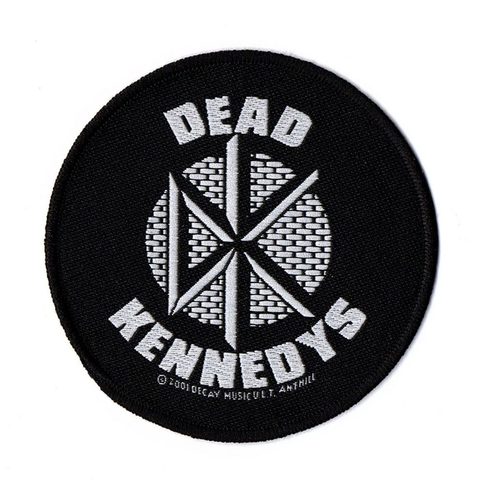 Dead Kennedys Black And White Logo Patch