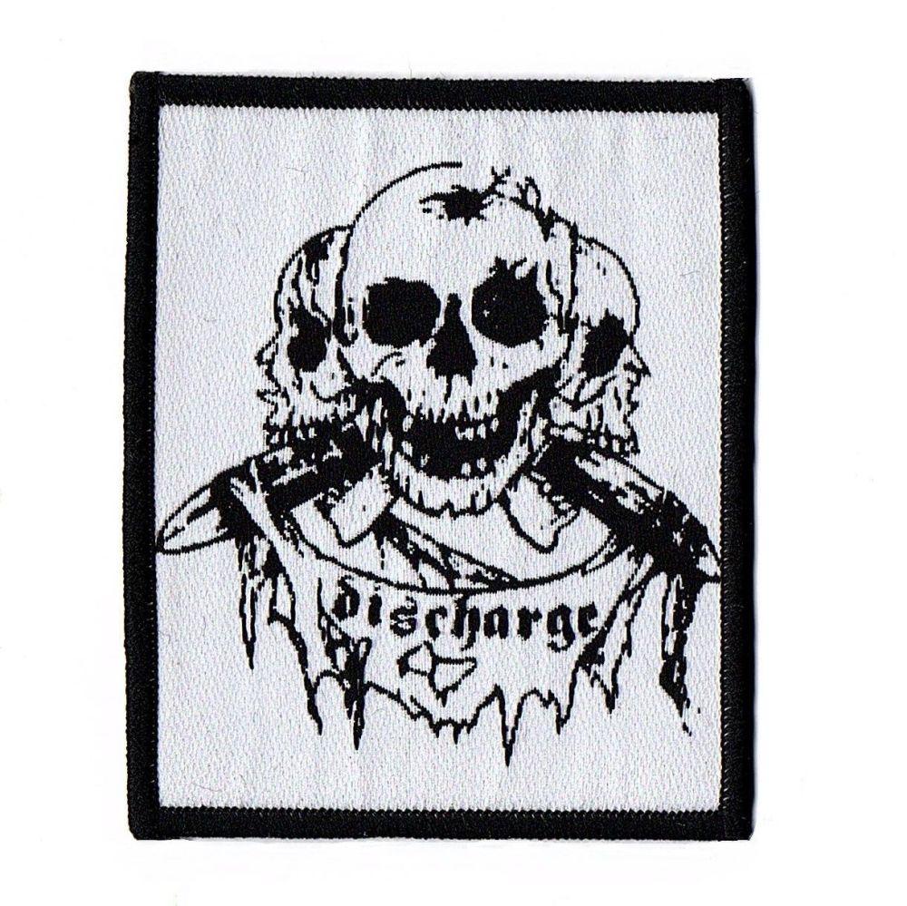 Discharge Skulls Patch