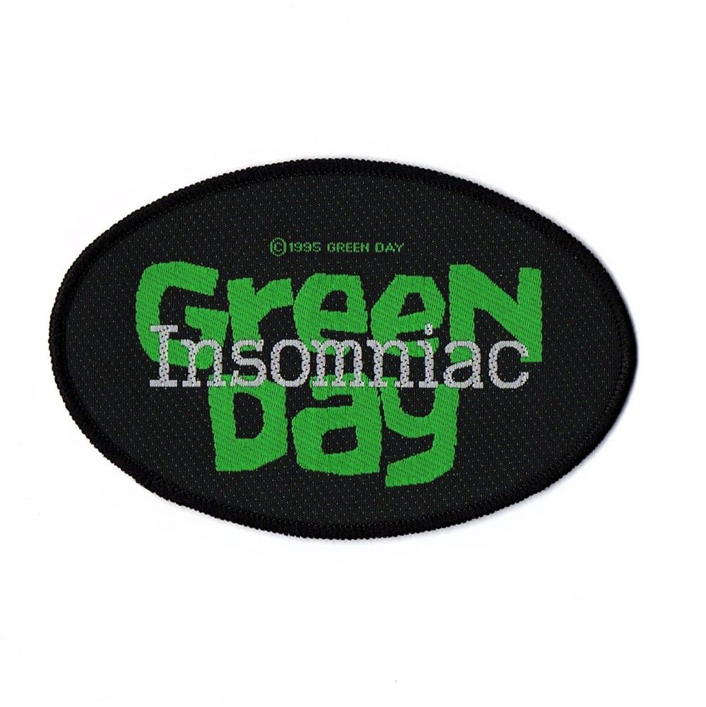 Green Day Insomniac Patch