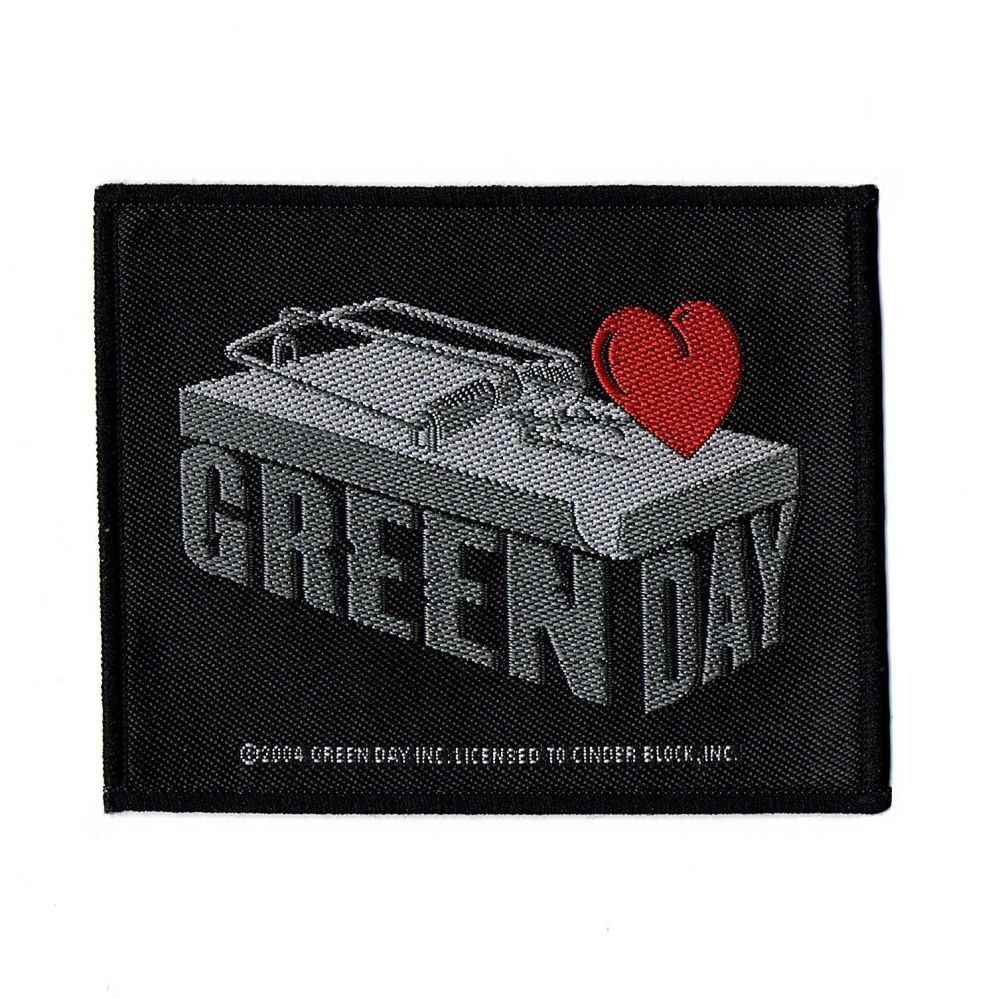 Green Day Mousetrap Patch