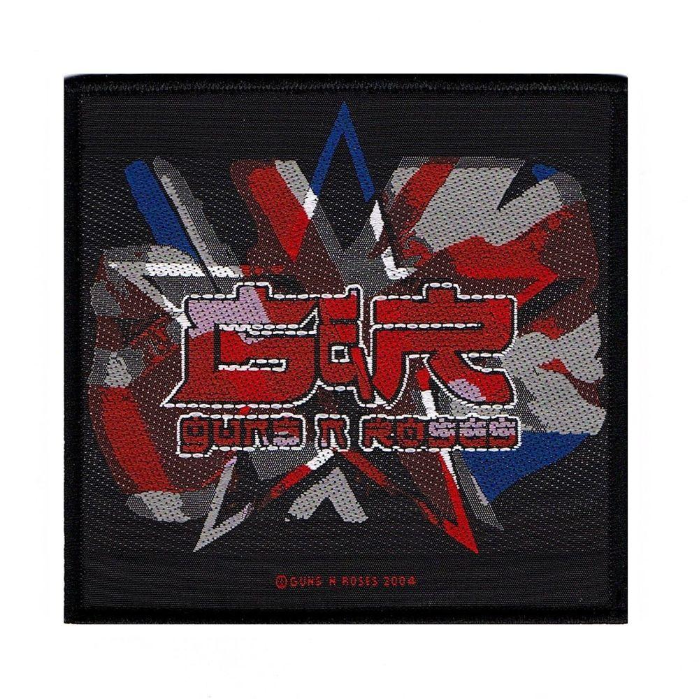 Guns N Roses Union Jack Patch