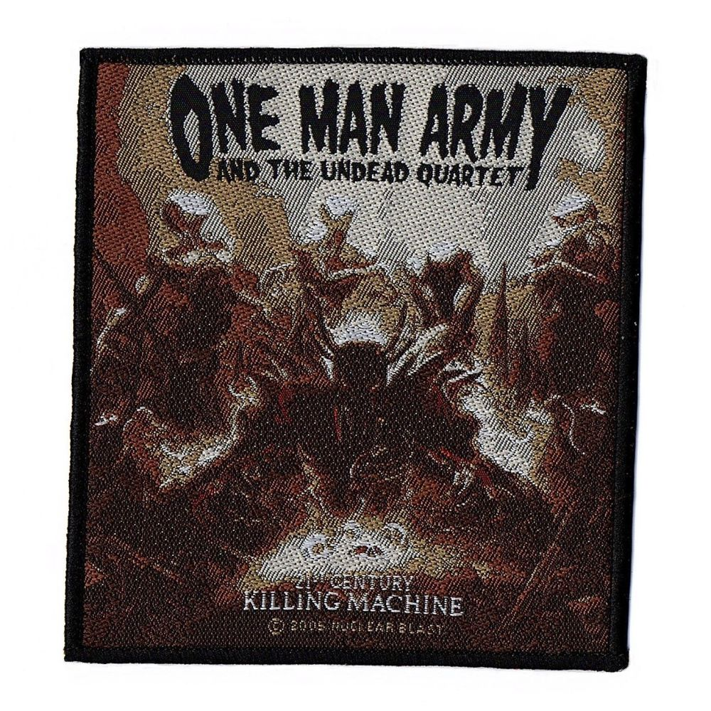 One Man Army 21st Century Killing Machine Patch