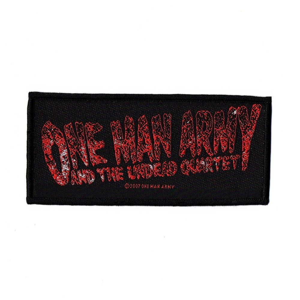 One Man Army Logo Patch