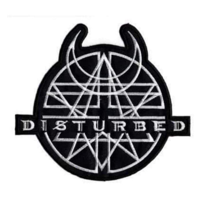 Disturbed Logo XL Patch