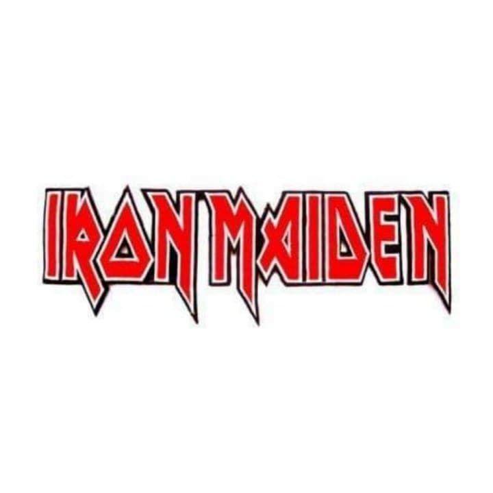 Iron Maiden Logo XL Patch
