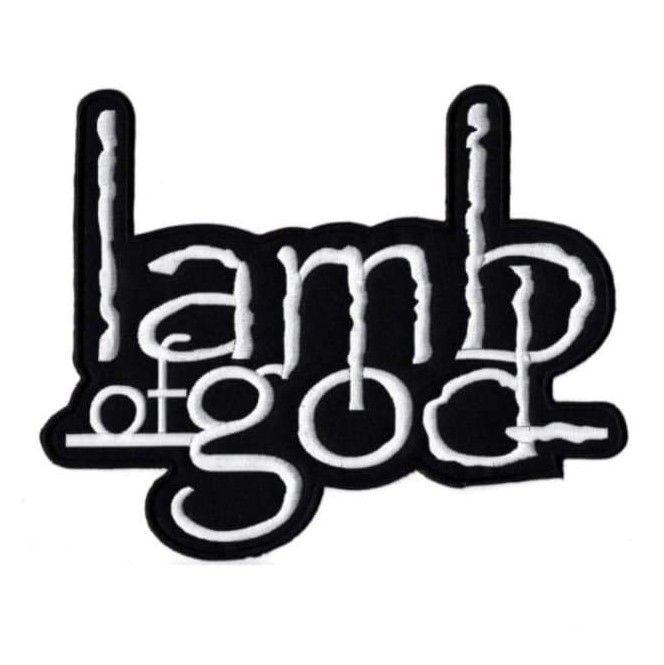 Lamb Of God Logo XL Patch