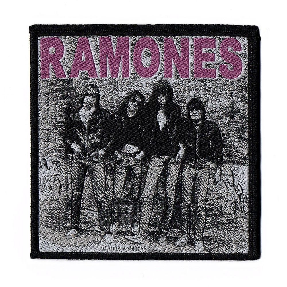Ramones Band Patch