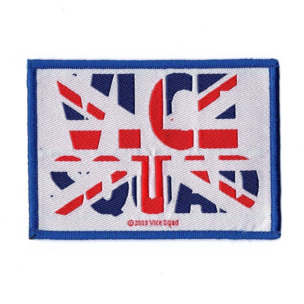 Vice Squad Union Jack Patch