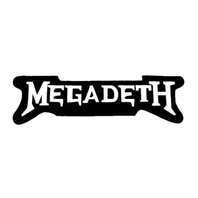 Megadeth Logo XL Patch