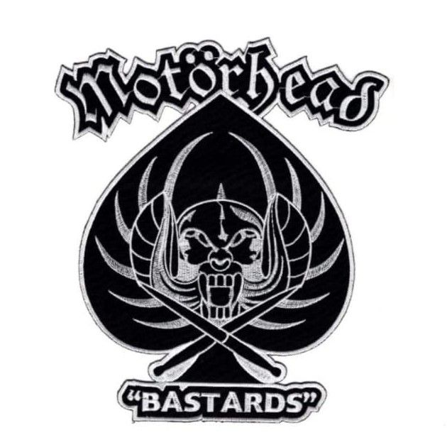 Motorhead Bastards XL Patch