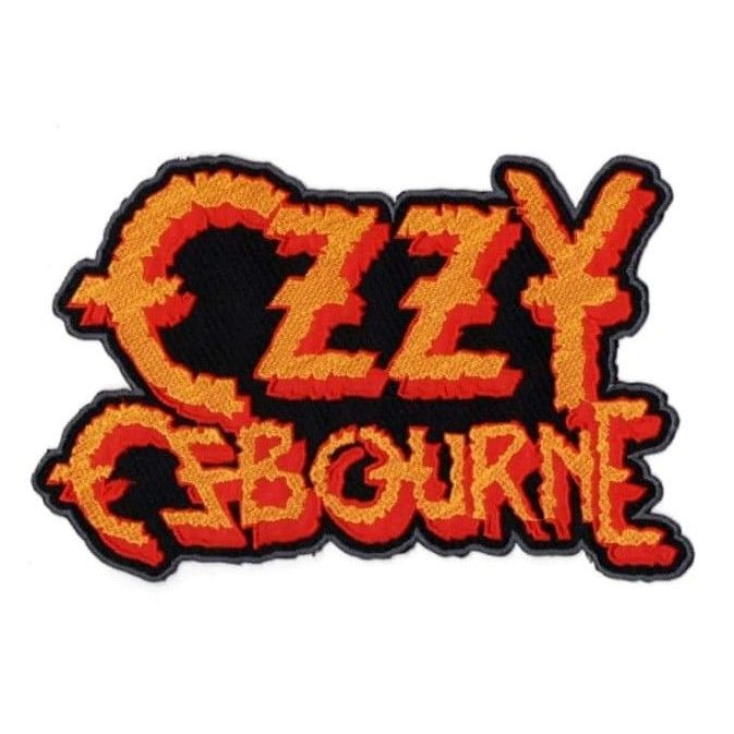 Ozzy Osbourne Logo XL Patch