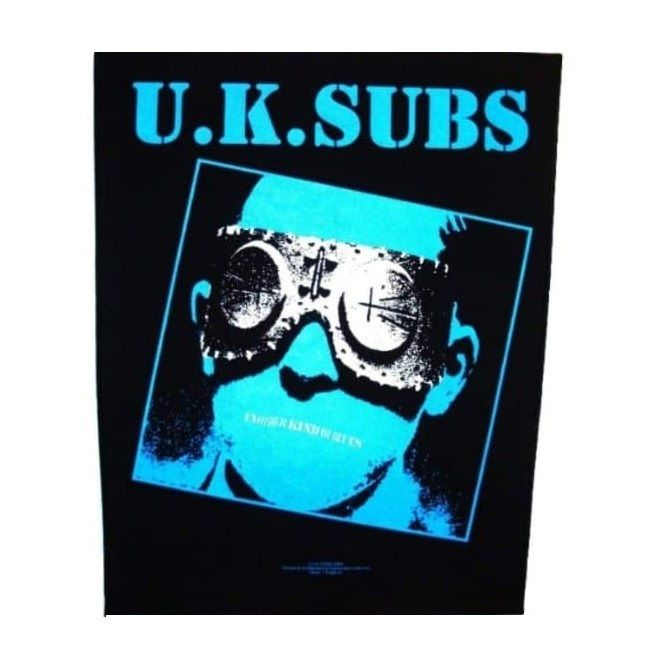UK Subs Another Kind Of Blues Back Patch