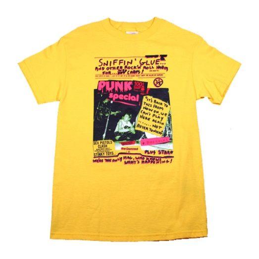 Sex Pistols Sniffin' Glue Tshirt