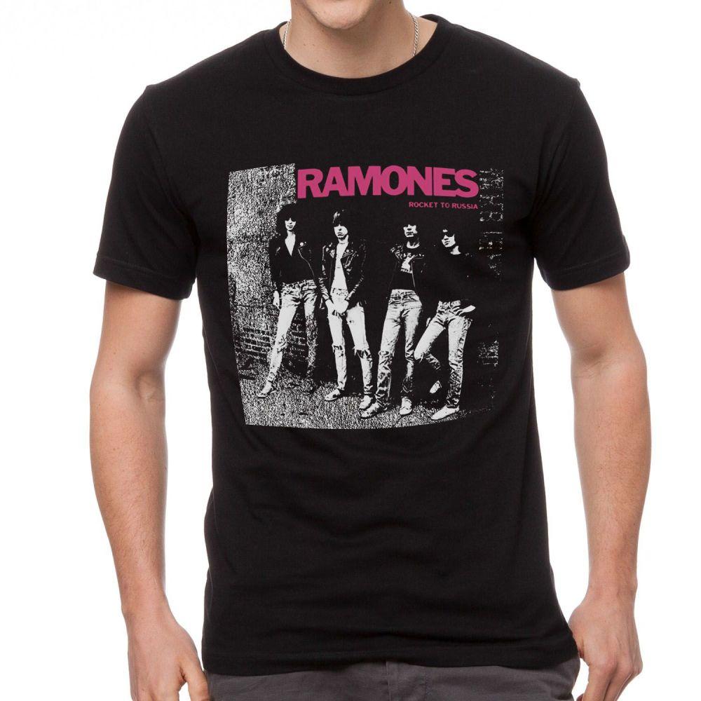 The Ramones Rocket To Russia Tshirt
