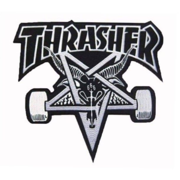 Thrasher Pentagram Baphomet XL Patch