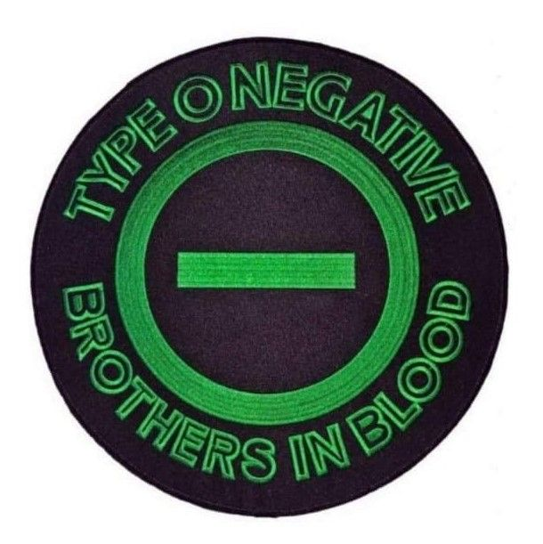 Type O Negative Brothers In Blood XL Patch