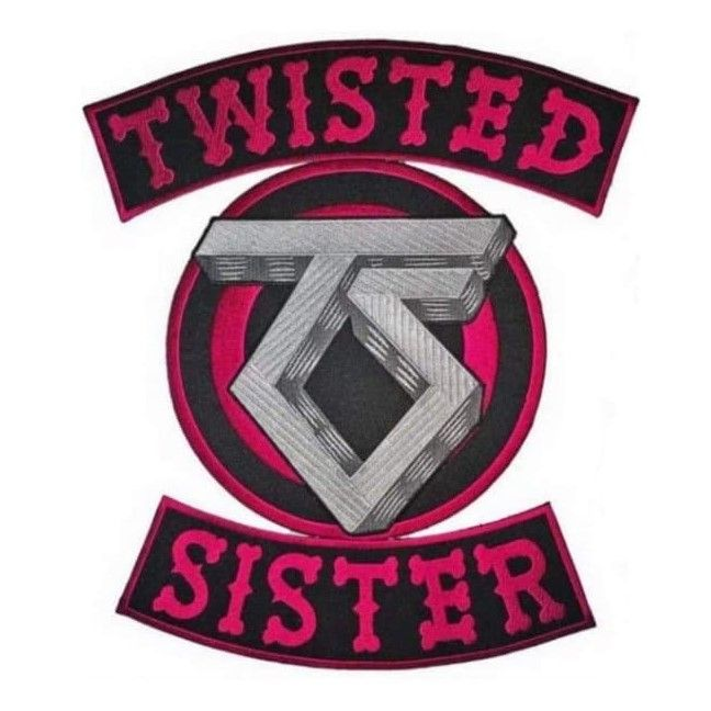 Twisted Sister XL Patch