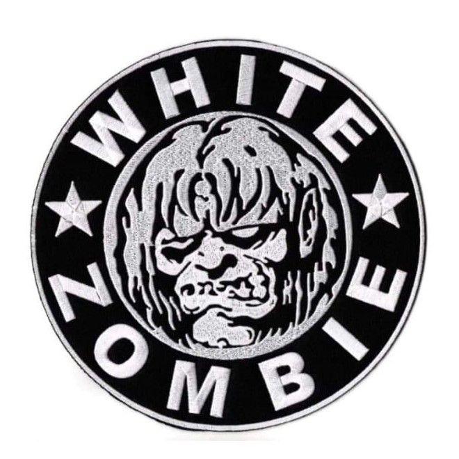 White Zombie XL Patch