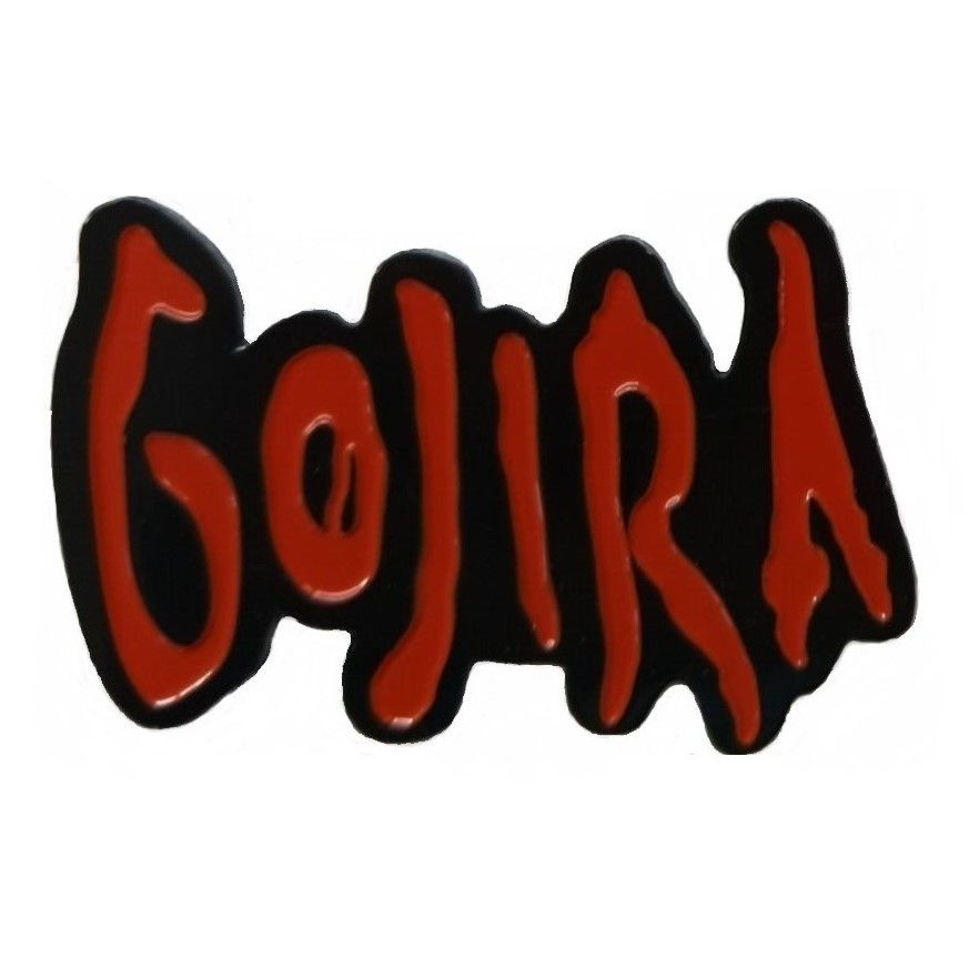 Gojira Red Logo Badge