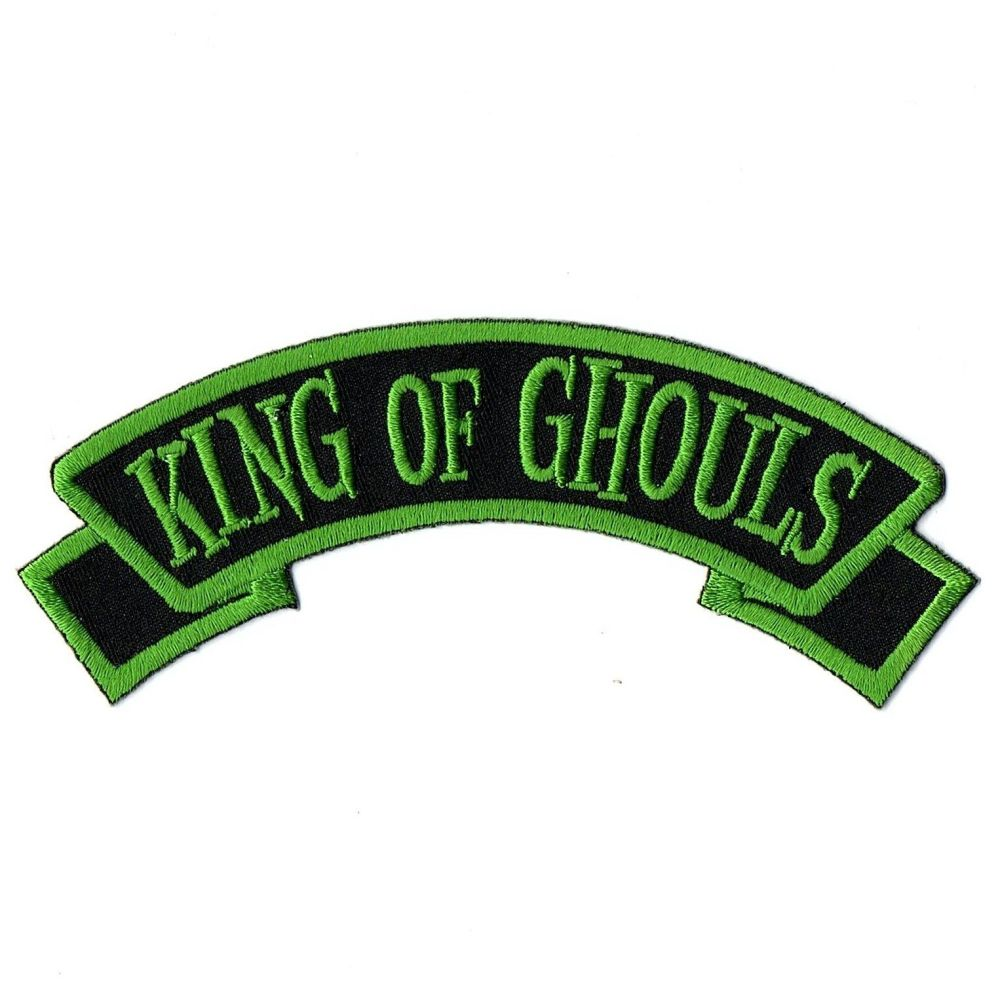 Kreepsville 666 Arch King Of Ghouls Patch