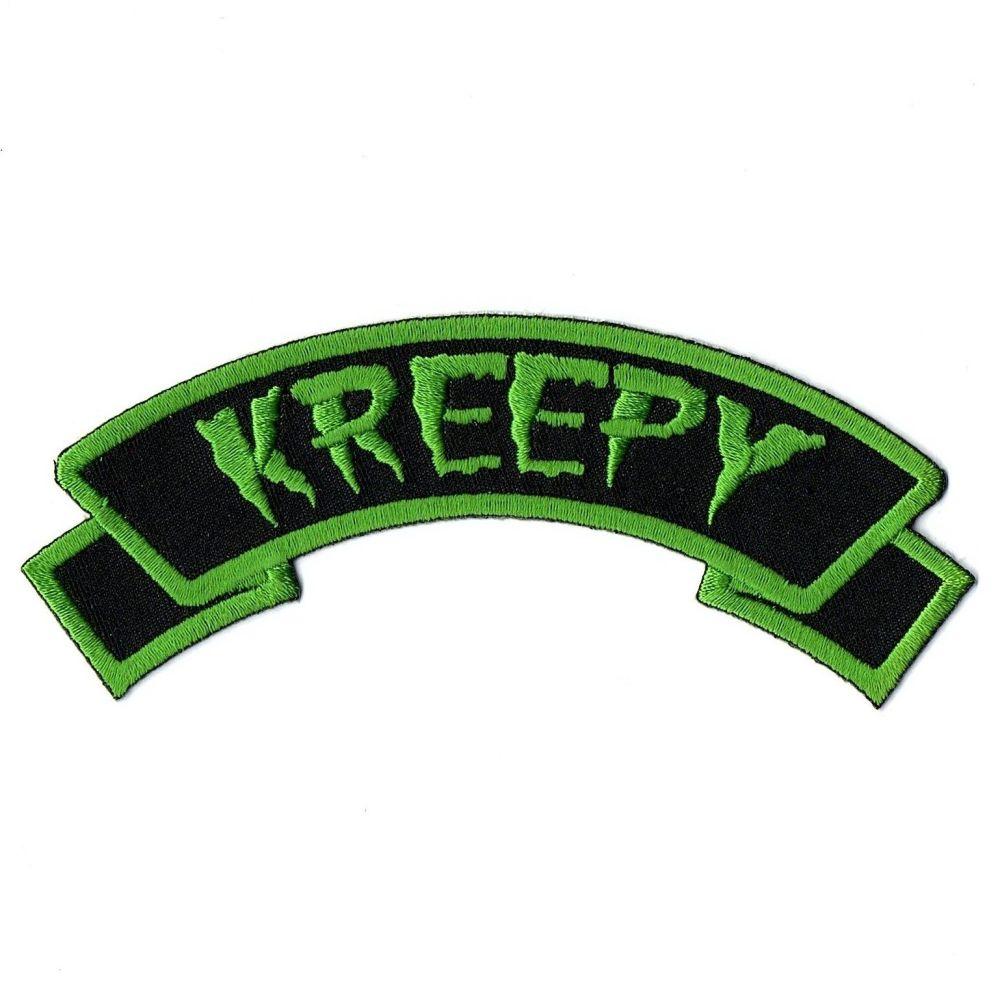 Kreepsville 666 Arch Kreepy Patch