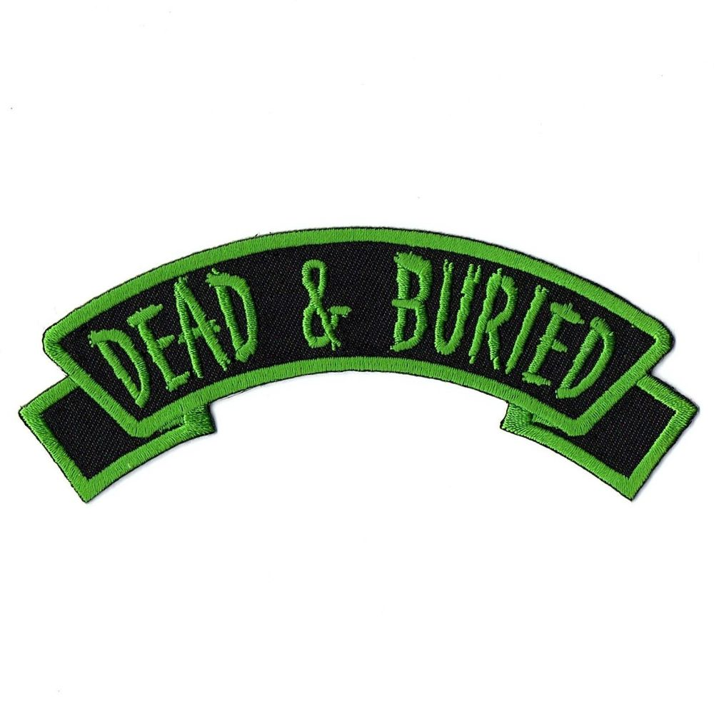 Kreepsville 666 Arch Dead And Buried Patch