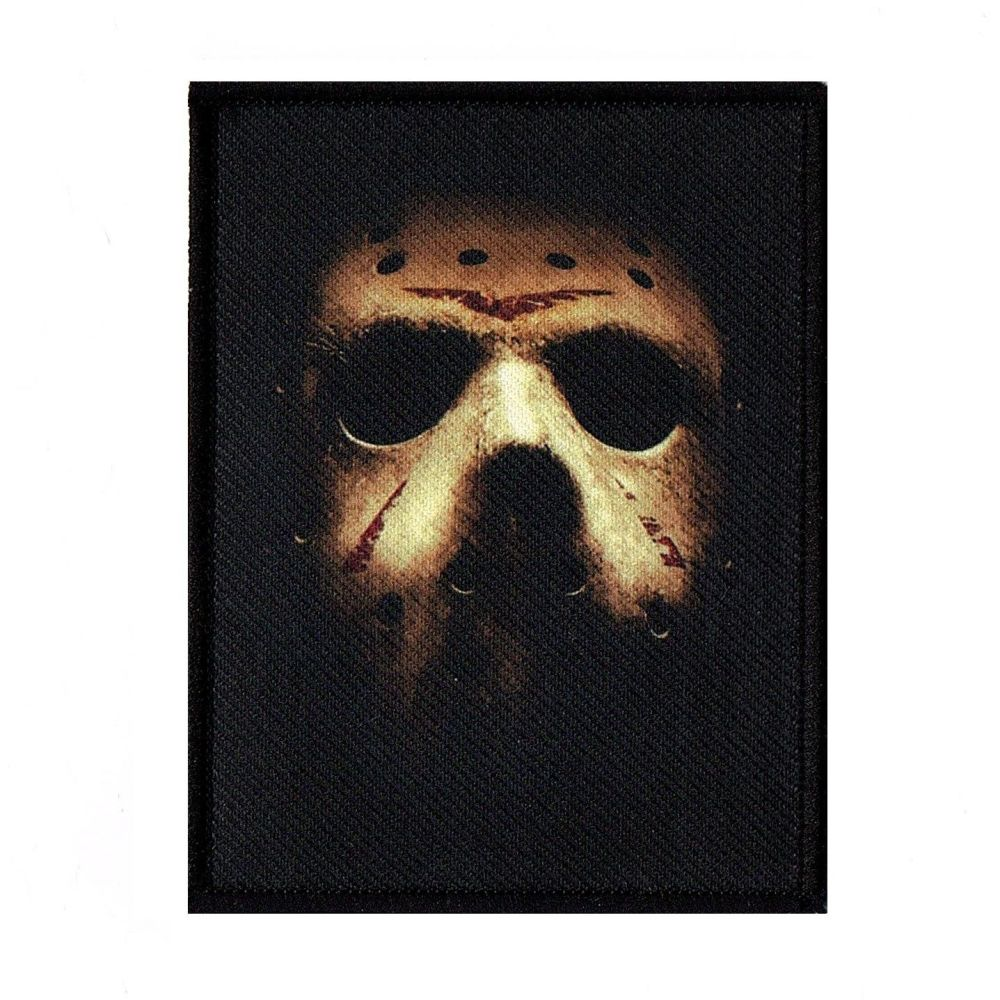 Friday The 13th Jason Mask Patch