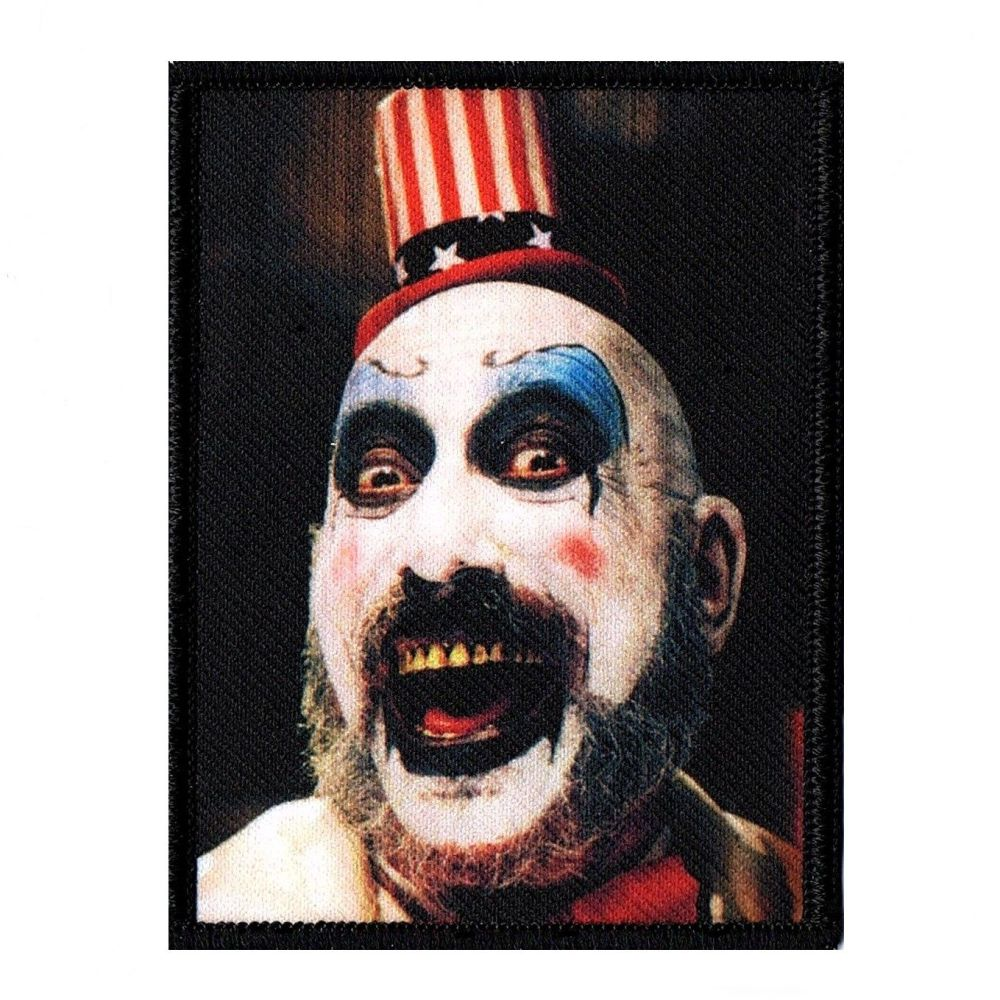 House Of 1000 Corpses Captain Spaulding XL Patch