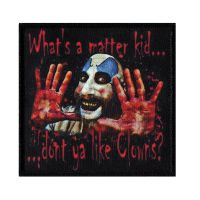 House Of 1000 Corpses Captain Spaulding Whats A Matter Kid Patch