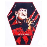 A Nightmare On Elm Street XL Coffin Patch