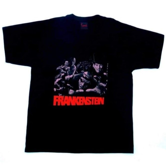 Frankenstein And The Monster From Hell Tshirt