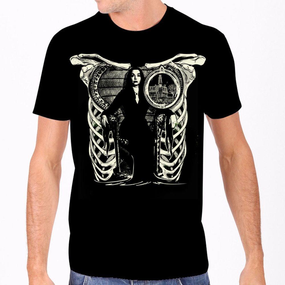 Rock Rebel Addams Family Morticia Tshirt