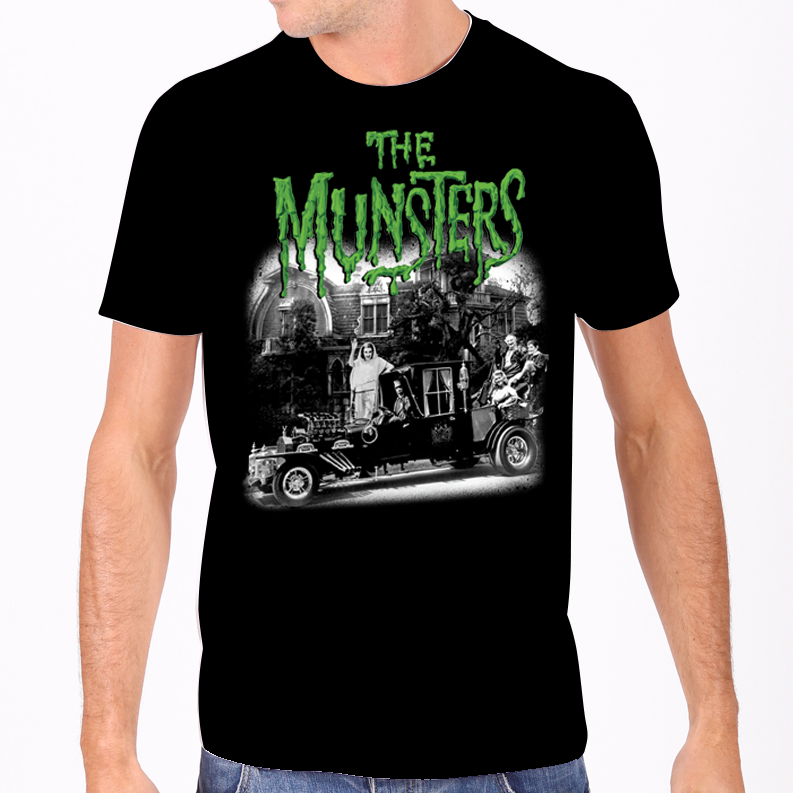 Rock Rebel Munsters Family Coach Tshirt