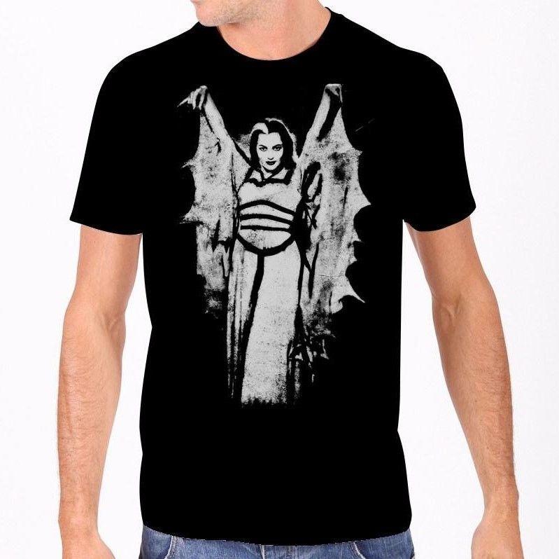 Rock Rebel Munsters Lily Munster Wings Tshirt