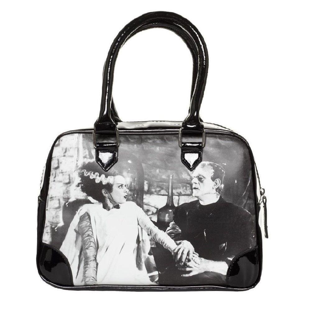 Bride Of Frankenstein We Belong Dead Bowling Bag